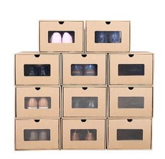 牛皮纸鞋盒