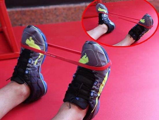 踝关节的灵活性训练