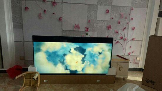 日间电视机显示效果