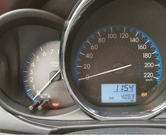小威4000公里的里程