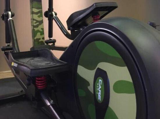 CARE(科尔)椭圆机的踏板及减震弹簧