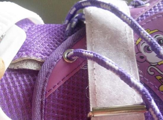 软织物面料轮滑鞋