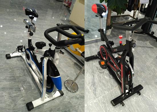 高端和低端动感单车对比