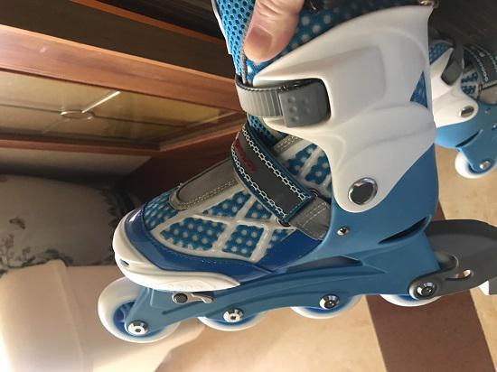 m-cro入门级儿童轮滑鞋