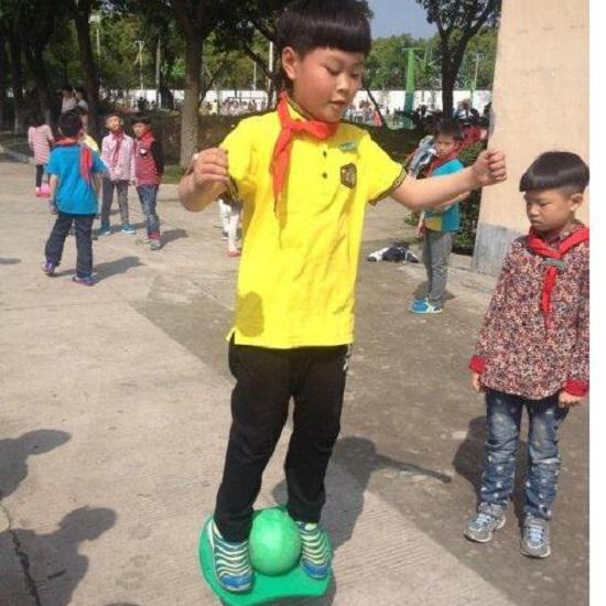 网购儿童跳跳球过程