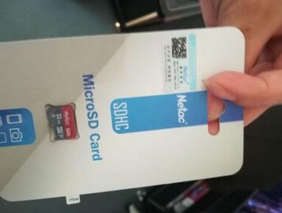 某品牌高速SD卡