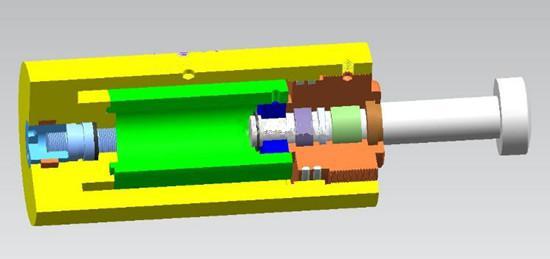 液压缓冲器的结构图