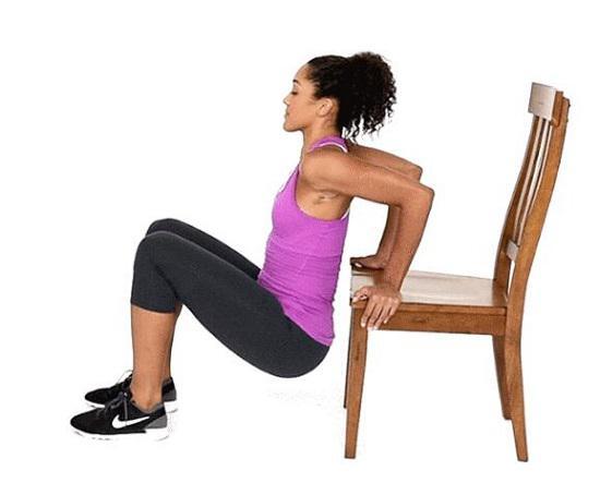 凳上双臂屈伸