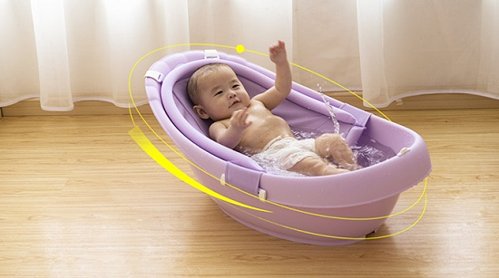 如何给几个月大的宝宝洗澡