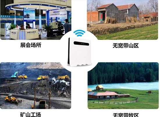 无线数据路由器适用场所