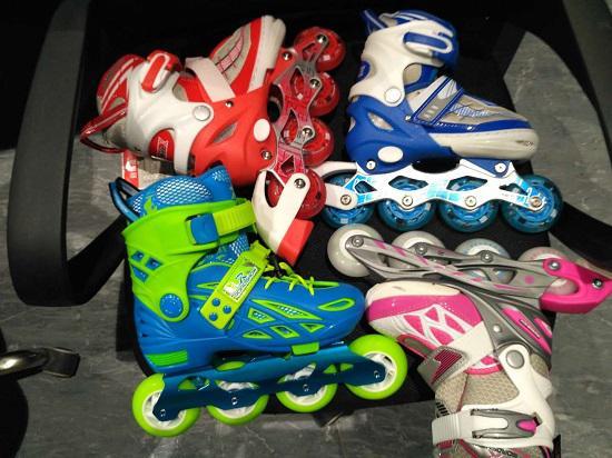 儿童轮滑鞋怎么拆