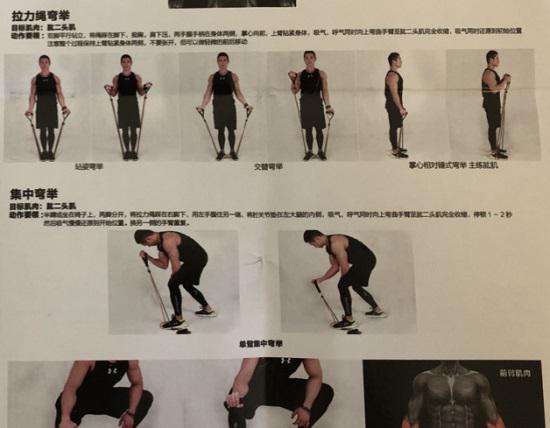 如何用弹力带锻炼肩臂力量
