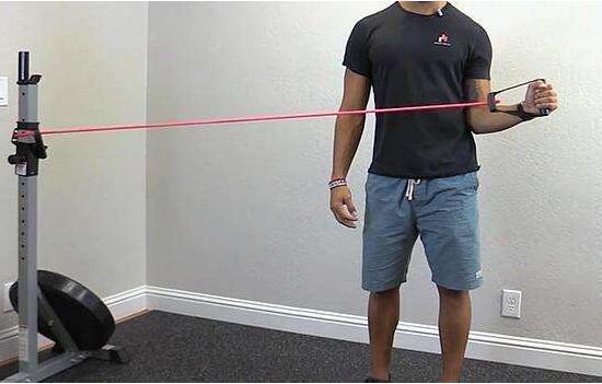 健身弹力带的用法