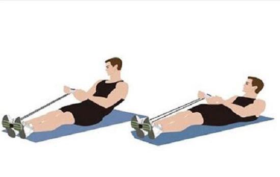 腰部训练法