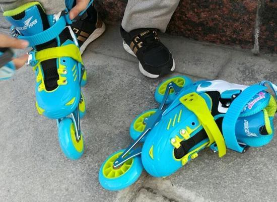 迈克威轮滑鞋试用感受
