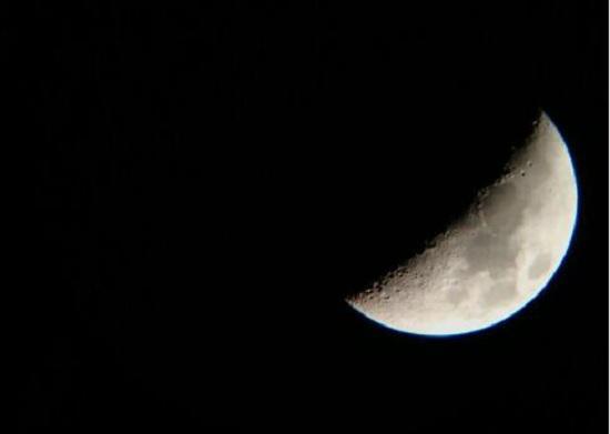 月球观测效果