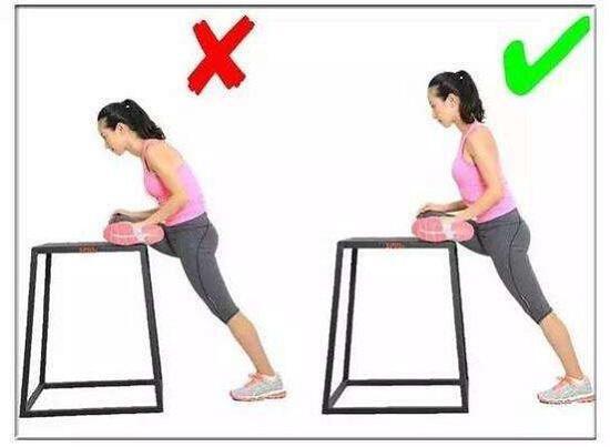 拉伸臀中肌和臀小肌的拉伸