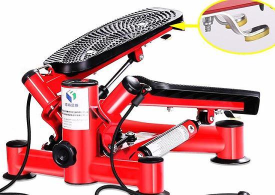 左右倾角式液压踏步机