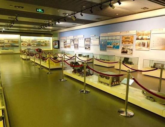 中国铁道博物馆正阳门馆中的摄影展